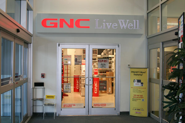 miltary gnc store locations. alaska. eielson air force base. building broadway mainside center next to country store - building camp pendleton, ca u.s. military academy (west point) building west point, ny phone: