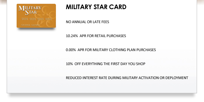 what is military star card military star credit card offers many of ...
